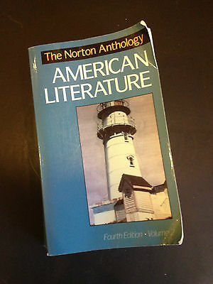 The Norton Anthology of American Literature Vol. 2 (1994, Paperback)