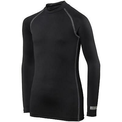 Rhino Base Layer Top Junior - Unisex Long Sleeve Sports Compression Body Fit Top