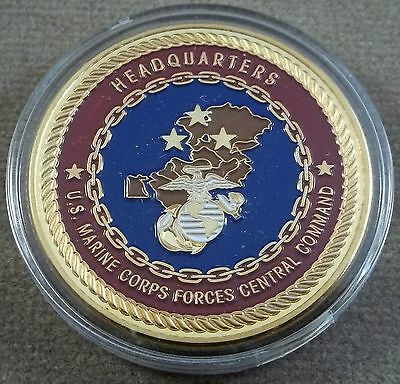 US Marine Corps Forces Central Command Challenge Coin - Headquarters