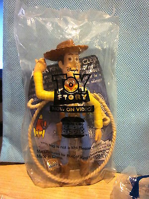 Burger King Toy Story Woody with Rope
