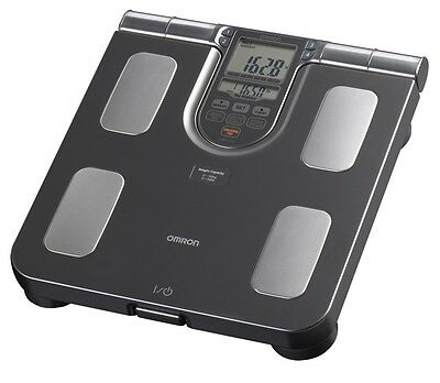 Latest - Omron HBF-514C Full Body Composition Sensing Monitor and Scale