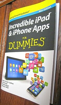 Book Mini Edition, Incredible iPad & iPhone Apps For Dummies Fitness Business @@