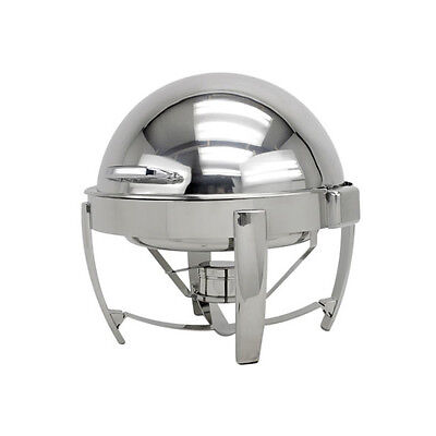 Commercial Stainless Steel Chafing Dish - Round - Banquet Catering Food Warmer