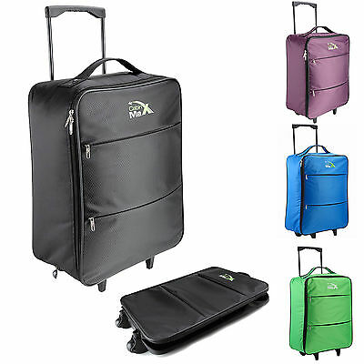Cabin Max Stockholm Trolley Cabin Flight Bag Suitcase Lightweight Hand Luggage