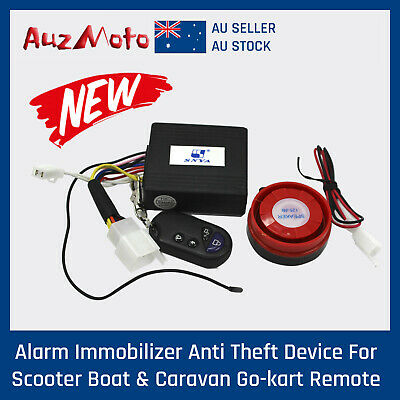 12V Remote Control Ignition Kill Switch Alarm for 200/250cc ATV Quad Buggy Gokar