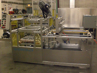 "Sibe Automation Continuous Vacuum Forming Machine 24"" X 24""  Roll Stock Sheet"