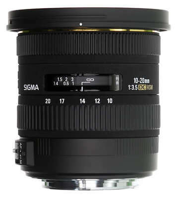 Sigma 10-20mm f/3.5 EX DC HSM Lens for Canon EOS 10-20