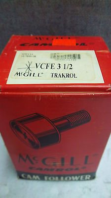 Mmcgill Camtrol Traktrol Cam Follower Vcfe-3-1/2 New Vcfe312