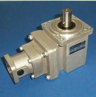 SHIMPO-Nidec 1:15 ABLE REDUCER RIGHT-ANGLE GEAR REDUCER EVSC-15B-100