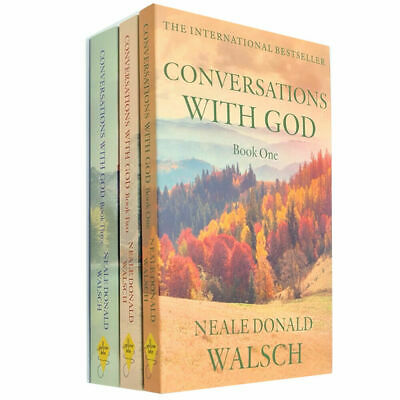 Conversations with God Vol(1,2,3) 3 Books Collection Set By Neale Donald Walsch