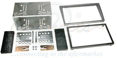 Connects2 Vauxhall Vectra C Double Din Car Stereo Facia kit CT23VX13 CHARCOAL