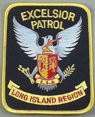 Law Enforcement Patch / Excelsior Security Protection / Long Island