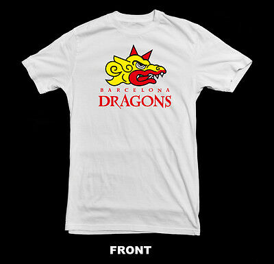 Barcelona Dragons (Europe Nfl) T-Shirt ~New~  All Sizes