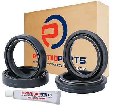 Pyramid Parts Fork Oil Seals & Dust Seals for: Yamaha FZ750 85-91