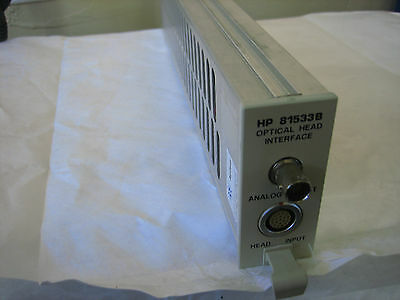 HP/Agilent 81533B Optical Interface module