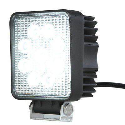 """Rupse 4"""" 27W Cree LED Work Light Bar Lamp for Motorcycle Tractor Boat Off Road"""