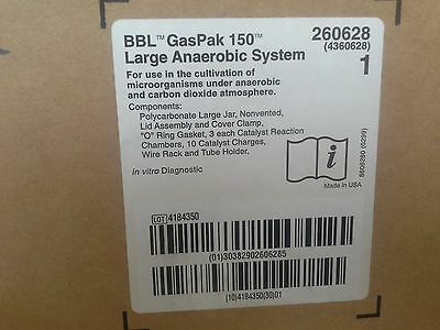 NEW GasPaK 150 Large Anaerobic Systems BBL unvented 260628