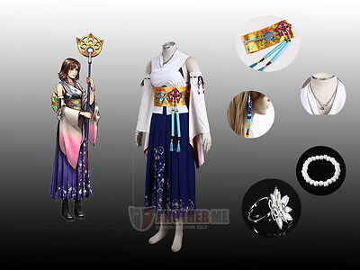 Another Me™ Final Fantasy Ten Yuna Cosplay Summoned Costume outfitChristmas Sale