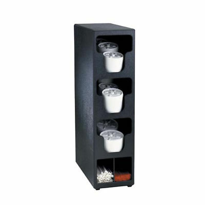 Countertop Organizer - Coffee Cup Lids, Straws/Stirrers, Napkins + (3 Section)