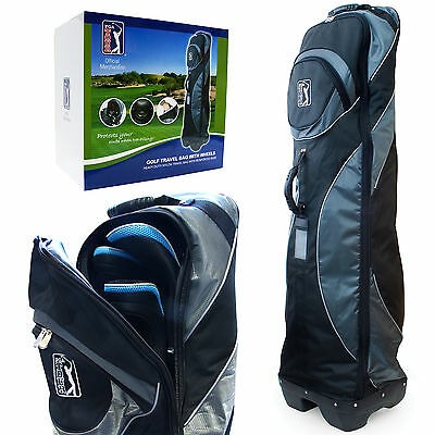 Pga Tour Golf Protective Travel Bag / Cover - Club Protector With Skate Wheels