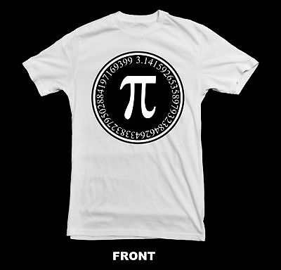 Mathematics Pi Symbol T-Shirt ~New~ All Sizes