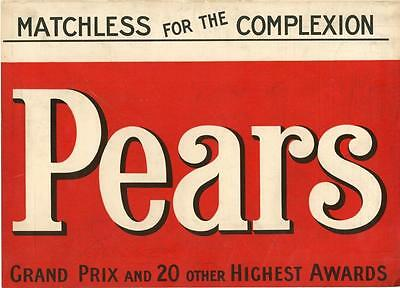 Pears Soap - Wincarnis - Large Full Page -  1905