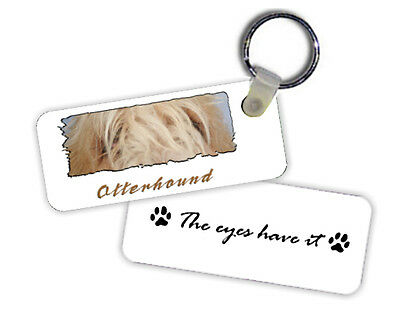 Otterhound   The  Eyes Have It   Key  Chain
