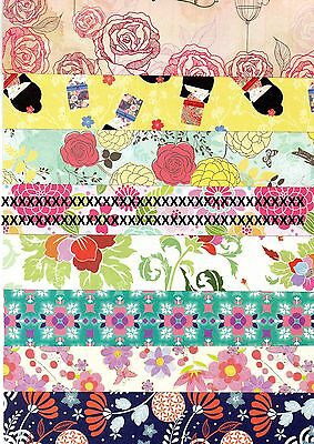 Set Of 7 A4 Craft Paper Sheets Choose From 7 Designs - Medium Text Weight Paper