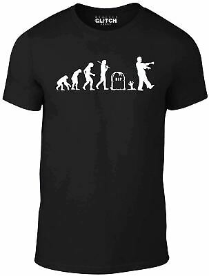 Childrens Zombie Evolution T-Shirt - Kids Funny Zombies Fun T Shirt Childs Tee