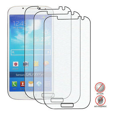 3Packs Anti-Glare (Matte) Screen Protector for the Samsung Galaxy S4 S IV i9500