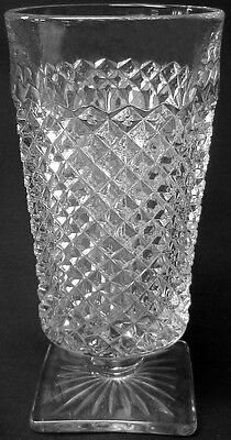 """Westmoreland Glass Clear Crystal English Hobnail Pattern 5.5"""" 9oz. Water Tumbler"""