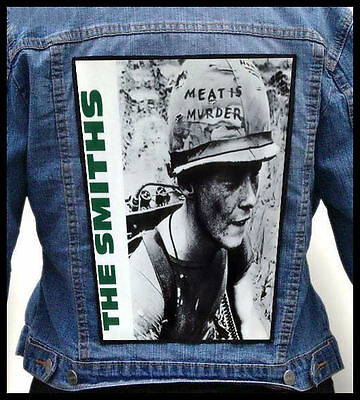 THE SMITHS - Meat Is Murder  --- Back Jacket Patch backpatch