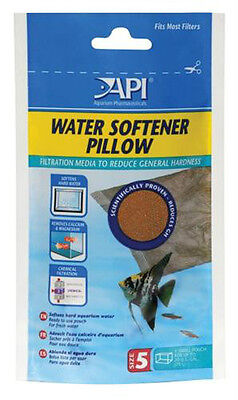 API Water Softener Pillow PH and KH Reducer For Discus & Soft Water Aquariums