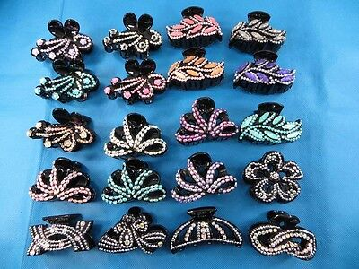 20 pcs hair accessories acrylic hair claw clips*Ship From US/Canada*