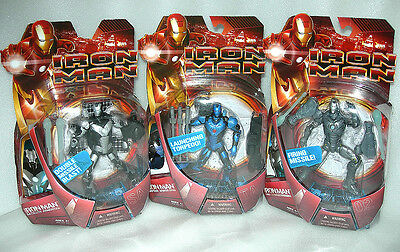 "Iron Man 6"" Original 2008 Movie Action Figure with Accessories - Asst -  NIDP"