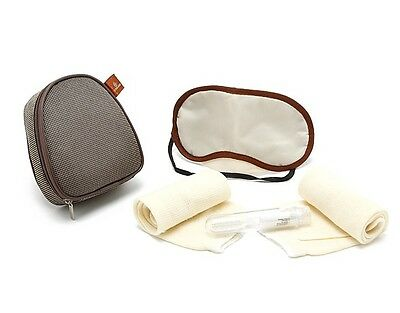 Emirates Airlines Toiletry Bag Amenity Pouch Set zippered bag Set of 5