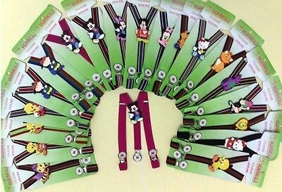 CHILDRENS BRACES, 1-6yrs, 10 DESIGNS, FULLY ADJUSTABLE, BOYS/GIRLS