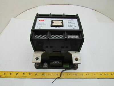 ABB SK 826 100-BG Size W5 350A 600VAC Welding Isolation Contactor 120V Coil 2P