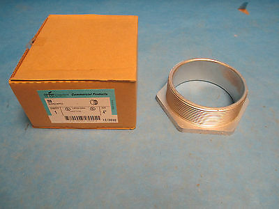 "Crouse Hinds 4"" Bushed Nipple 59 New Surplus"
