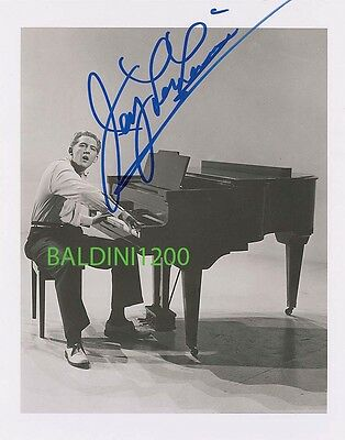 Jerry Lee Lewis Signed 10X8 Photo,  Great Film Still Image, Looks Great Framed