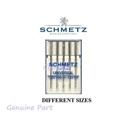 STANDARD UNIVERSAL Household SEWING MACHINE NEEDLES SCHMETZ See Listing Fits all
