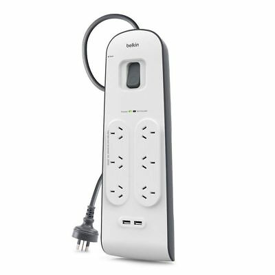 Belkin Power Board Pureav Isolator 8 Way Outlet Surge Protector