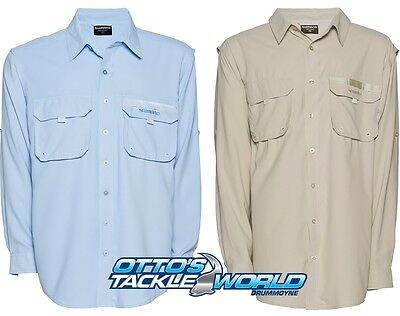 Shimano Long Sleeve Vented Fishing Shirts UPF 30+ at Otto's Tackle World