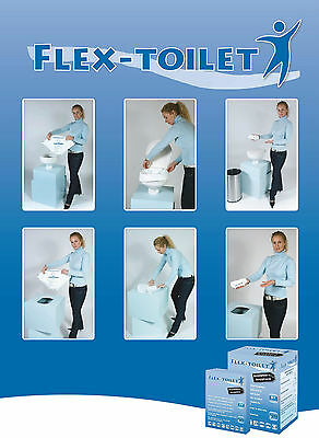 Portable Toilet...dry toilet.. this is a MUST SEE! this listing is for a 5 pack