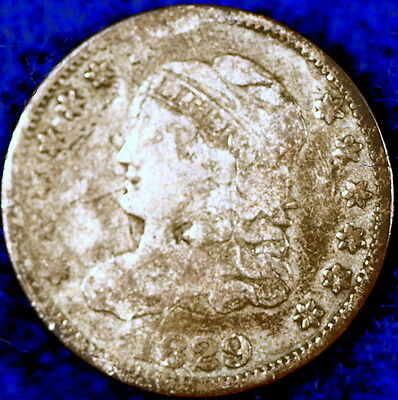 1829 Nice Early Capped Bust Liberty Half Dime!! D0523