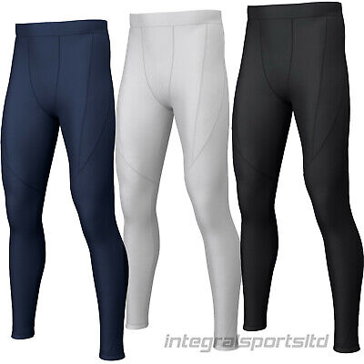 i-sports Base Layer Tights Boys Kids Mens Compression Running Thermals Bottoms