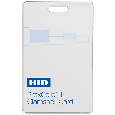 GENUINE HID 1326 ProxCard II Clamshell Proximity Cards (100-Pack)