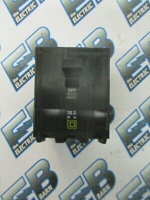 Square D QOB330 3 POLE 30 AMP 240 VOLT BOLT ON Circuit Breaker- WARRANTY
