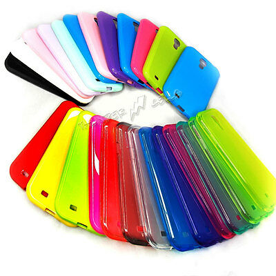 Lot of TPU Silicone Cell Phone Case Soft Color Skin Cover for Samsung Galaxy S4