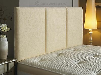 quality alton chenille headboard in 2ft6,3ft,4ft,4ft6,5ft,6ft cheapest on ebay